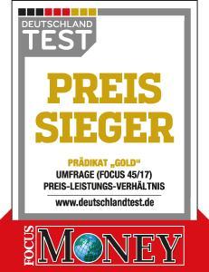 WeberHaus ist Preis-Leistungs-Sieger 2017