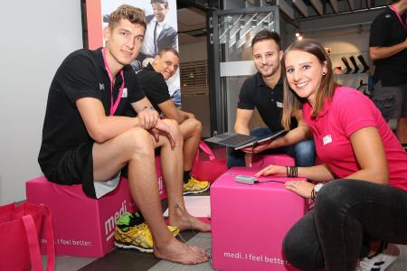 Einkleidung von medi bayreuth: Mit Top-Produkten in die neue Saison