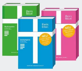 Die BasisBibel ist in verschiedenen Ausgabeformaten erhältlich