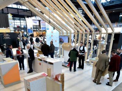 Experten der Bauwirtschaft Baden-Württemberg und von Holzbau Baden e.V beraten auf der GETEC