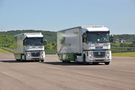 Goodyear LHT II Rollwiderstandvergleich mit Wettbewerber