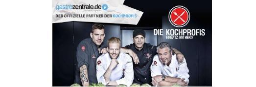 """""""Mit Gastrozentrale haben wir den idealen Partner für unsere Sendung gefunden"""", sagen die RTL II-Kochprofis"""